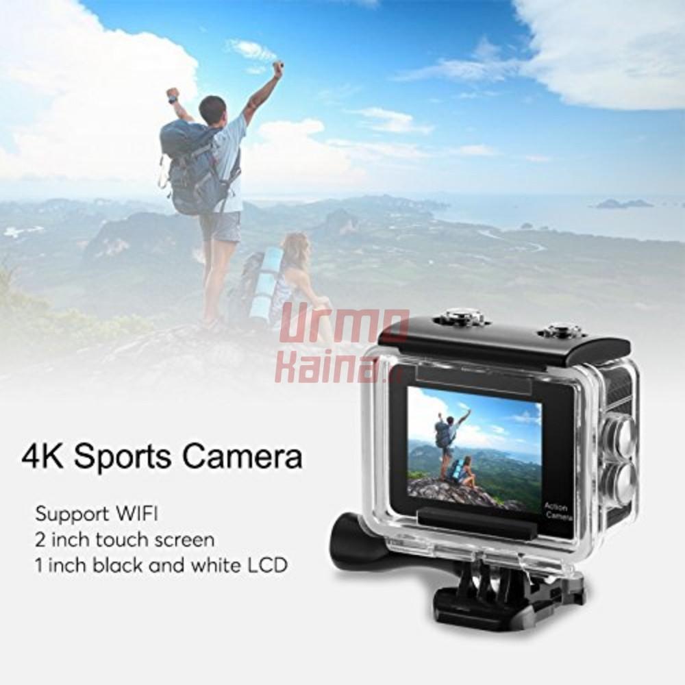 Veiksmo kamera Go Sport Pro F5 | 4K UltraHD WIFI